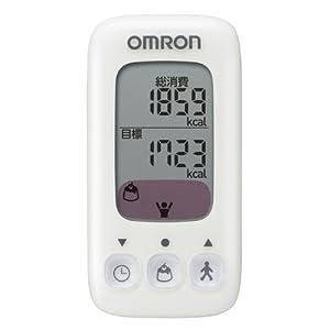 オムロン(OMRON) 活動量計 カロリスキャン ヴァニラ HJA-310-W