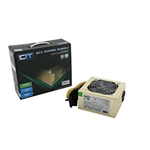 CiT 750W 12cm Silent Fan Power Supply - Gold Edition