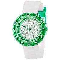 [フリック フラック]FLIK FLAK キッズ腕時計 Full Size(フルサイズ) GREEN SUMMER BREEZE(グリーン・サマー・ブリーズ) ZFCSP013 ガールズ 【正規輸入品】