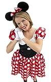 Medium Minnie Mouse Fancy Dress Costume - Ladies