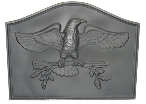 Cheapest Prices! HomComfort CIFBEG Eagle Cast Iron Fireback Plates