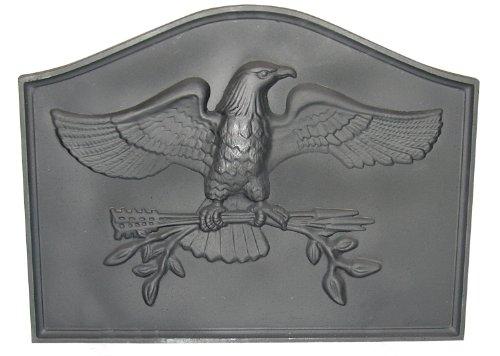 Cheapest Prices! HomComfort CIFBEG Eagle Cast Iron Fireback Plates