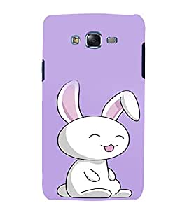 printtech Cute Bunny Back Case Cover for Samsung Galaxy Quattro i8552 / Samsung Galaxy Quattro Win i8552