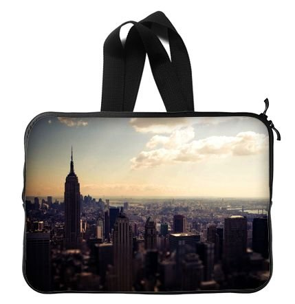 Empire State Building New York City Laptop Sleeve 13 / 13.3 Inch for Macbook Pro 13/macbook Air 13 and Laptop Case 13.3 Inch Dell/hp/lenovo/sony/toshiba/ausa /Acer/samsung Laptop Bag (Mac Book Pro Case New York compare prices)