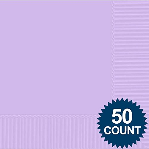 Lavender 2-Ply Luncheon Napkins, 50 ct. - 1