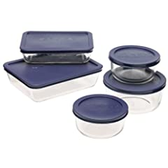 Pyrex Storage 10-Piece Set