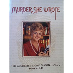 Murder, She Wrote: The Complete Second Season, Disc 2, Episodes 9-16 movie