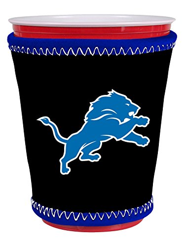 nfl-detroit-lions-insulating-cup-sleeve-black