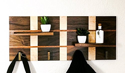 hand-crafted-modern-wood-coat-rack-made-of-mahogany-walnut-maple-hallway-entryway-shelf-wall-organiz