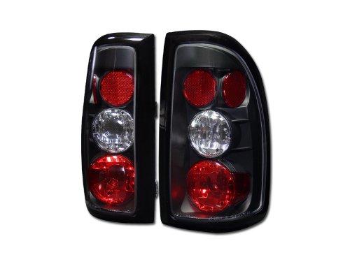 JDM BLK ALTEZZA TAIL LIGHTS REAR BRAKE LAMPS 1997-2004 DODGE DAKOTA TRUCK CAB JY (Cab Lights Dodge Dakota compare prices)