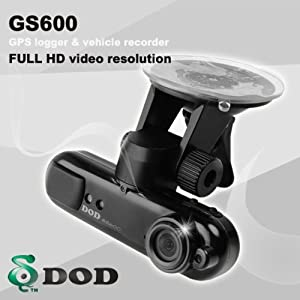Amazon.com: DOD GS600 Car DVR Black Box Camera with GPS: Car ...