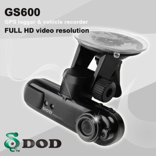 DOD GS600 Car DVR/Car Black Box & GPS Logger NEW FIRMWARE V. 2.0.7 w/ MPH Speed Option + HDMI CABLE INCLUDED