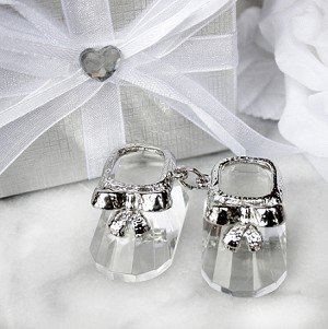 Select Crystal Collection - Pair of crystal booties