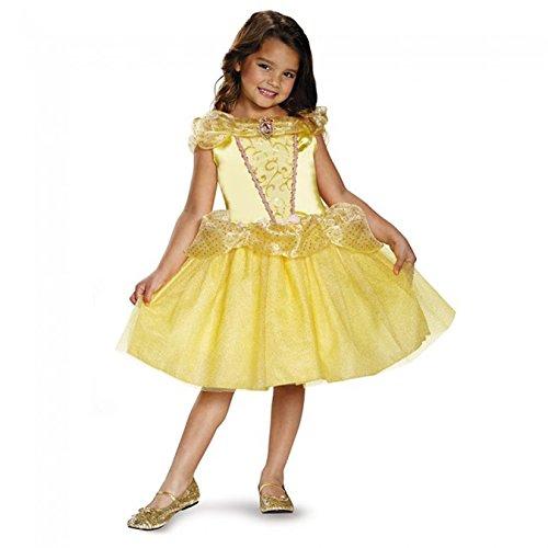 Belle (Aurora Sparkle Classic Girls Princess Costumes)