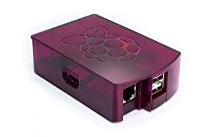 NEW! Raspberry PI clear case, mounted in 30 seconds, no screws, made in europe  - framboise