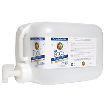 Earth Friendly Products Proline PL9750/05U ECOS Magnolia and Lily Scented Liquid Laundry Detergent, 5 gallon Deltangular