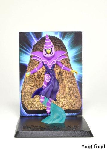 """NECAA YuGiOh Dark Magician 3 3/4"""" Action Figure with Deluxe Display - 1"""