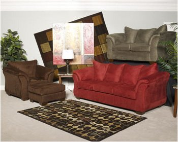 Sage F LOVESEAT SECTIONAL W/ BY Famous Brand