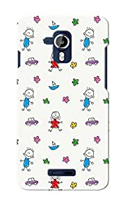 KnapCase Kids Designer 3D Printed Case Cover For Micromax Canvas Magnus A117