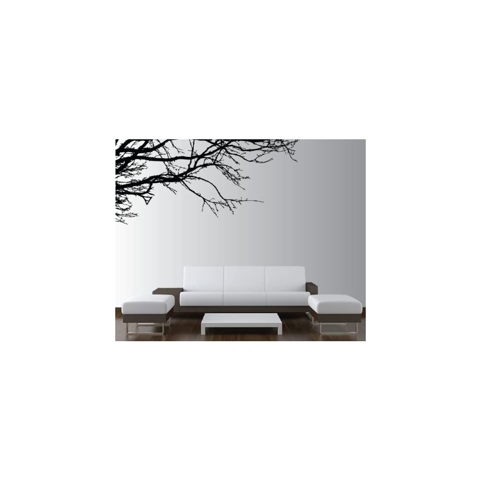 Vinyl Wall Decal Sticker Tree Top Branches (M) 100 W X 44