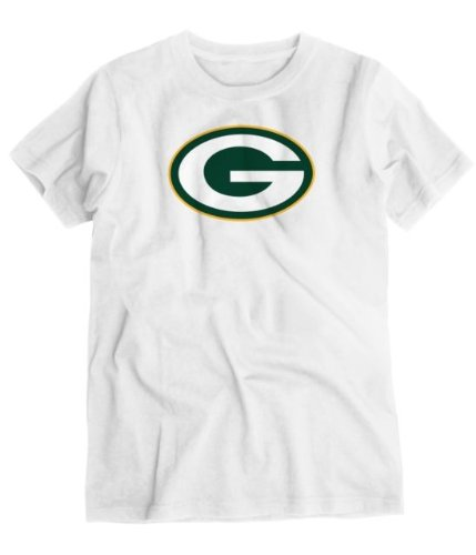 Green Bay Packers Adult Short Sleeve Soft Organic Cotton T-Shir (Large) front-968283