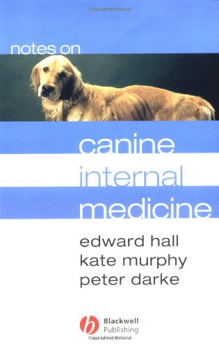 Notes On Canine Internal Medicine front-1040625