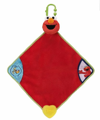 Sesame Street Teething Baby Blanket (Discontinued by Manufacturer) - 1