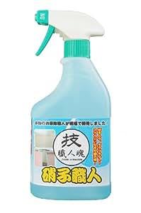 業務用ガラス洗剤 技・職人魂 ガラス職人 スプレーボトル 500ml