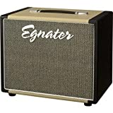 Egnater Rebel 112X 1x12 Guitar Extension Cabinet, Black And Beige