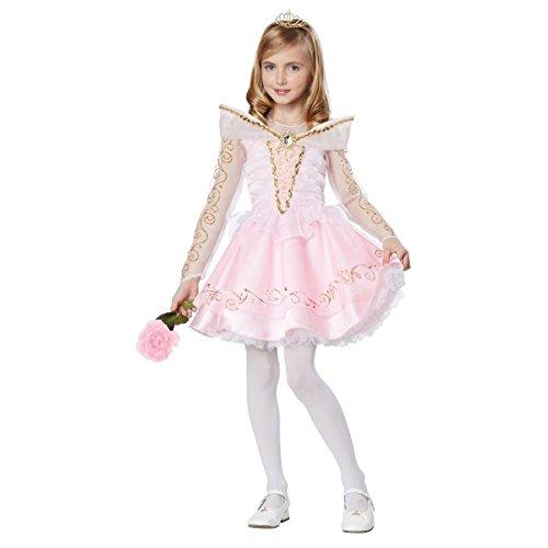 [GSG Sleeping Beauty Costume Kids Princess Aurora Halloween Fancy Dress] (Gothic Ballerina Halloween Costumes)