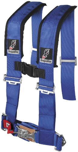 RZR-CAN-AM-UTV-SXS-OFFOAD-DragonFire-Blue-4-point-Seat-Belt-Harness-Harnesses-14-0030