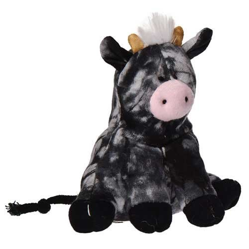 "Mary Meyer Happy Hippies Cow 5"" Plush Toy"