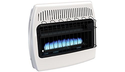 Empire Vent-Free Blue Flame Heater Natural Gas 30000 BTU, Manual Control (Natural Gas Floor Heater compare prices)