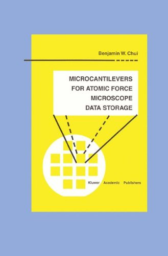 Microcantilevers For Atomic Force Microscope Data Storage (Microsystems)
