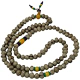 Divya Mantra Smoky Quartz Stone Guru Bead Meditation Mala For Healing