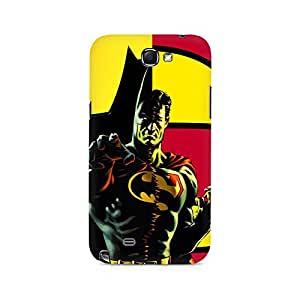 Ebby Batman within Superman Premium Printed Case For Samsung Note 2