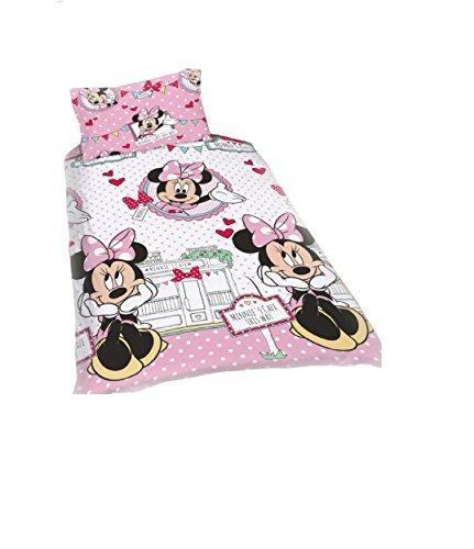 Disney Minnie Mouse Café copripiumino singolo reversibile