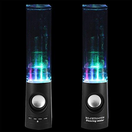 Generic Wireless Bluetooth Music Fountain Dancing Water Speaker (Black)