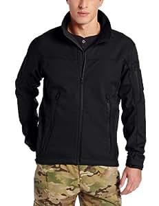 TRU-SPEC Men's 24-7 Tactical Softshell Jacket, Black, 3X-Large
