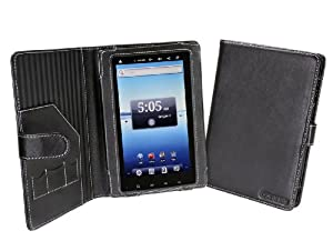 Cover-Up Nextbook Premium7 (Next 7P) Tablet PC Leather Cover Case (Book Style) - Black from Electronic-Readers.com