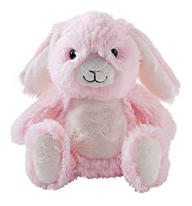 Aroma Home - Peluche Bouillotte micro onde - coussin amovible - Petit Modele - Pink Bunny