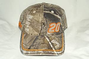 Chase Authentics Tony Stewart #20 Camouflage Home Depot Worn Buckle Back Cap by NASCAR