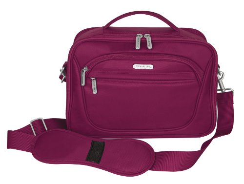 Travelon Mini Cosmetic Organizer/Travel Case, Berry, One Size