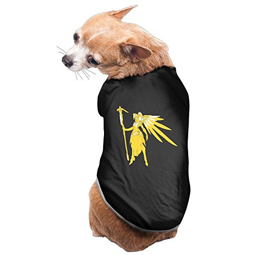 [Bekey Particular Mercy Pet Dog Puppy Pets Costumes Black Size S] (Simple Character Day Costumes)