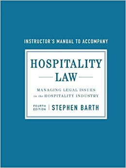 ethnical and legal issues hospitality Understand and base decisions on ethical standards and values common law system describe the development of rules regarding the rights and liabilities of innkeepers under the common law system, as well as the ways in which contract law, tort law, and negligence law affect the hotelkeeper.