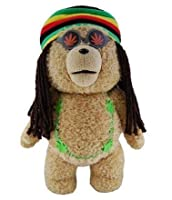 "Ted in Rasta 24"" Plush Toy Outfit with Sound from Ted"