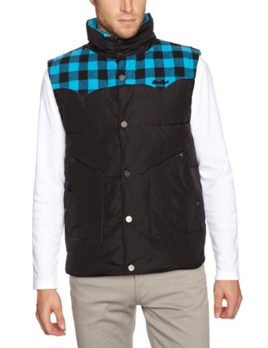 Two Angle Mabon Men's Jacket Blue Medium