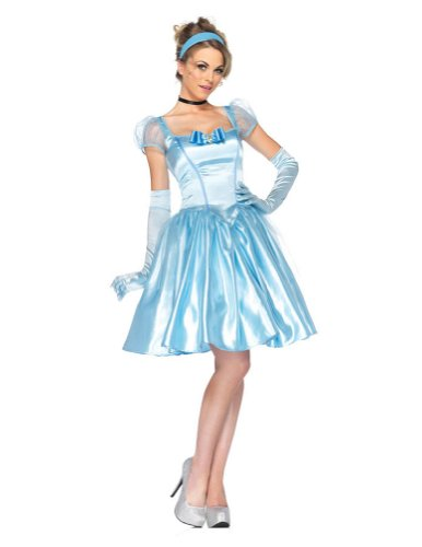 Cinderella Classic Adult Costume Md Adult Womens Costume