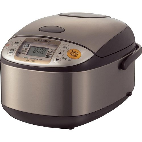 New Zojirushi NS-TSC10 5-1/2-Cup (Uncooked) Micom Rice Cooker and Warmer, 1.0-Liter