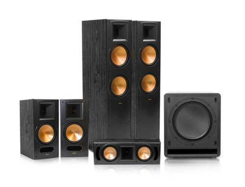 Klipsch Rf-82 Ii Reference Series 5.1 Home Theater System (Black)